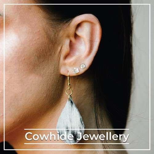 cowhide-jewllery